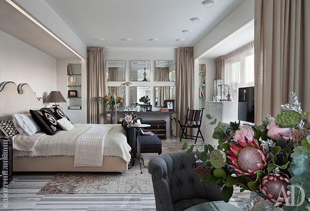 Потрясающая московская студия 34 м2 от Татьяны Мироновой - Дизайн интерьеров | Идеи вашего дома | Lodgers