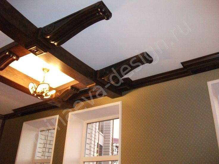 Деревянные потолки для гостиницы - автор Ольга Минаева, Россия, Краснодар, +79184110608