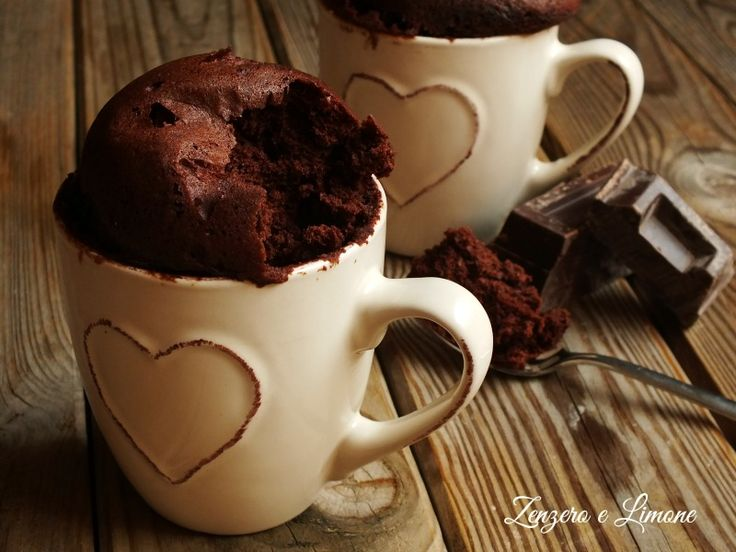 torta in tazza al cioccolato -