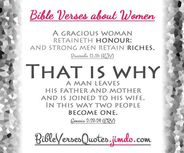 BIBLE VERSES ABOUT WOMEN... #bibleverses #biblequotes #bibleversesaboutwomen
