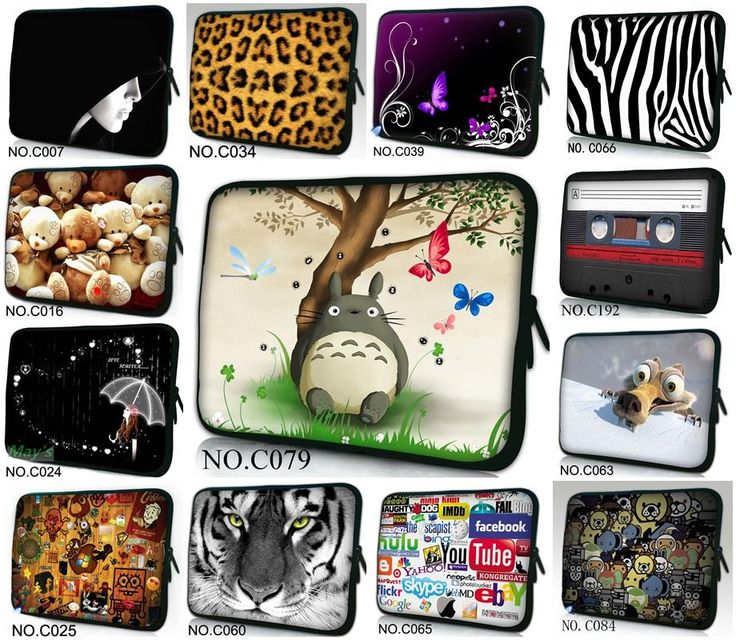 15 стильный Дизайн Ноутбука Чехол для Ноутбука Сумка Для 15 15.5 15.6 HP Dell Acer ASUS Sony Портативных ПК