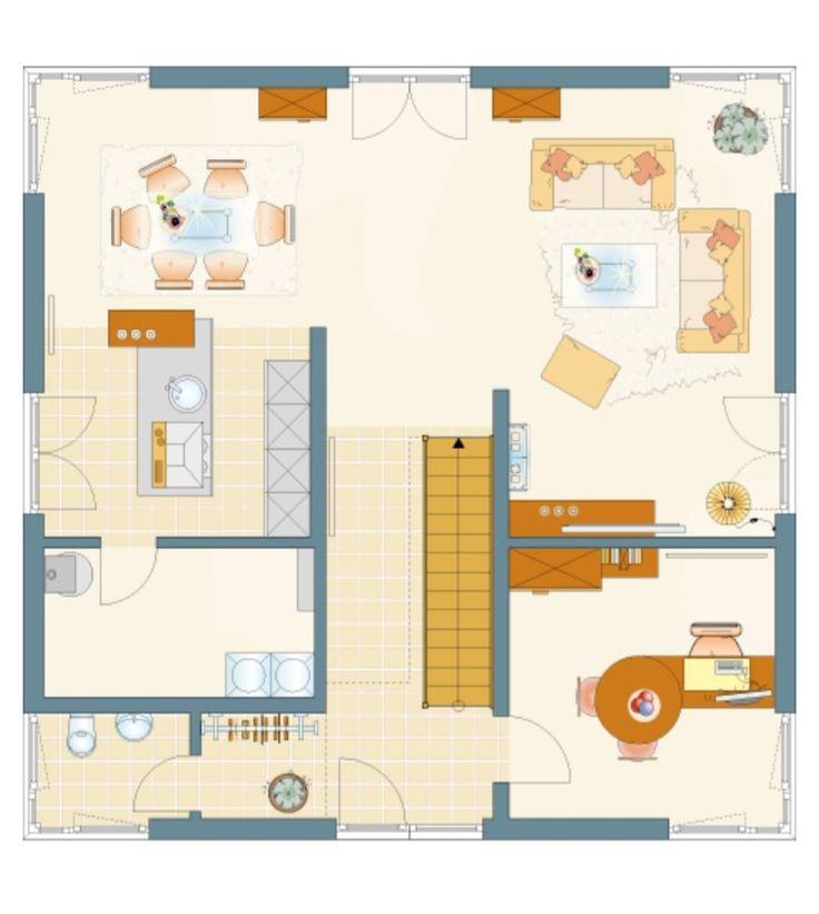 Stadtvilla moderne architektur grundriss  34 besten Grundrisse Bilder auf Pinterest | Grundrisse, Hausbau ...