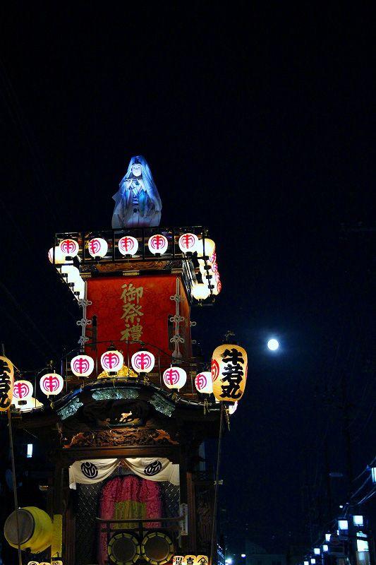 川越祭り 夜の屋台