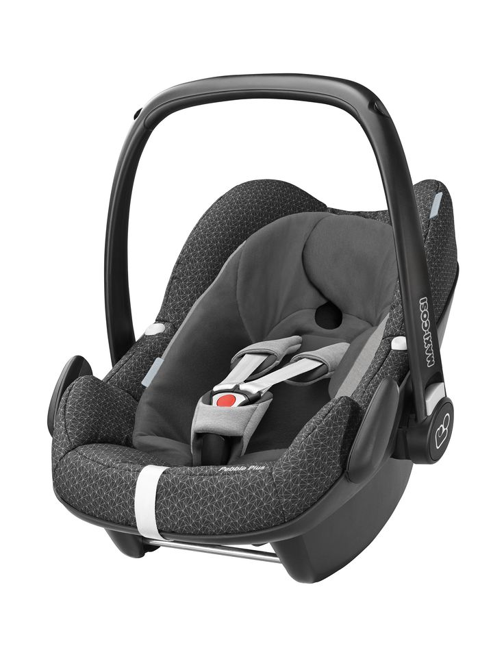 Maxi-Cosi Pebble Plus (i-Size) Baby Car Seat - Black Crystal