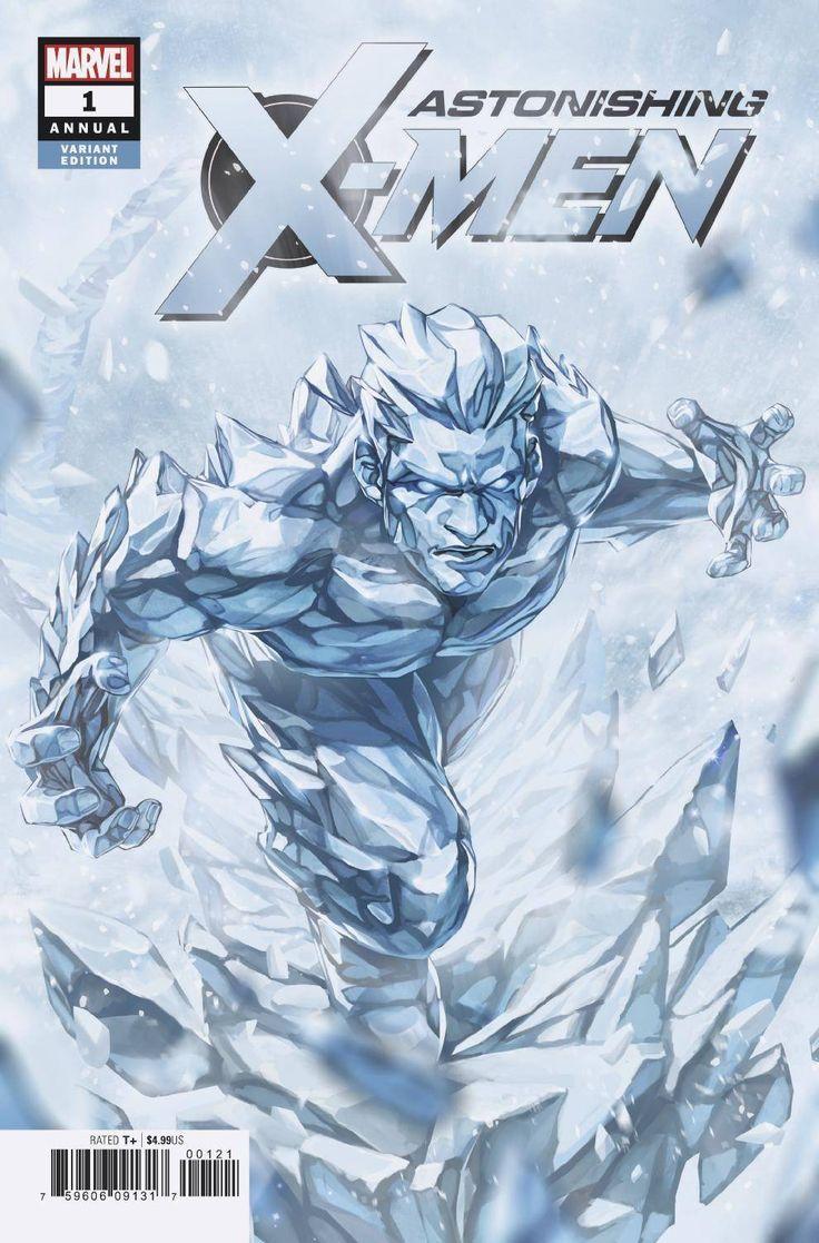 Astonishing X Men Annual 1 Hyung Var Iceman Marvel X Men Marvel