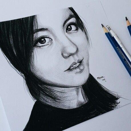 Agnez Mo #agnezmo #drawing #sketching