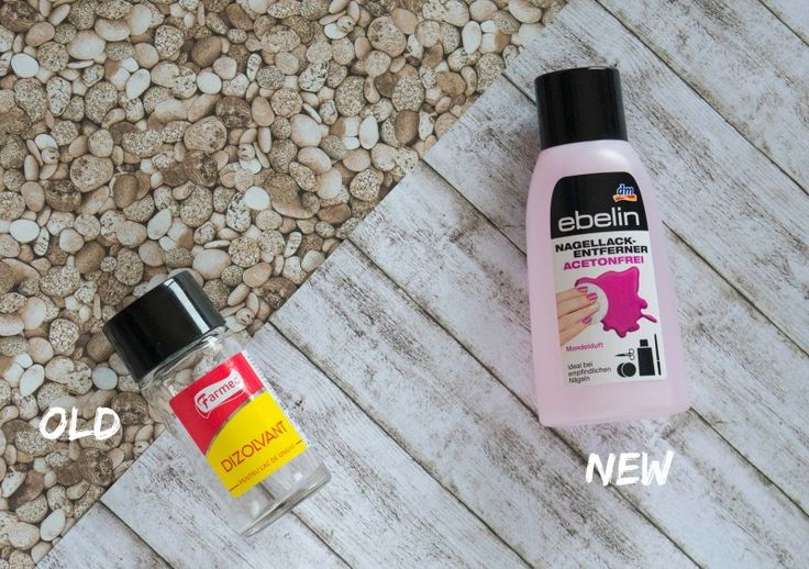 Beauty Empties & Replacements: Farmec Nail Polish Remover & Ebelin Acetone-Free Nail Polish Remover