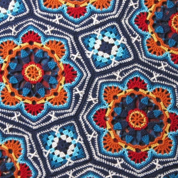 persian tiles crochet pattern pdf