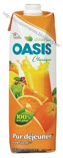 Coupons et Circulaires: .99¢ OASIS