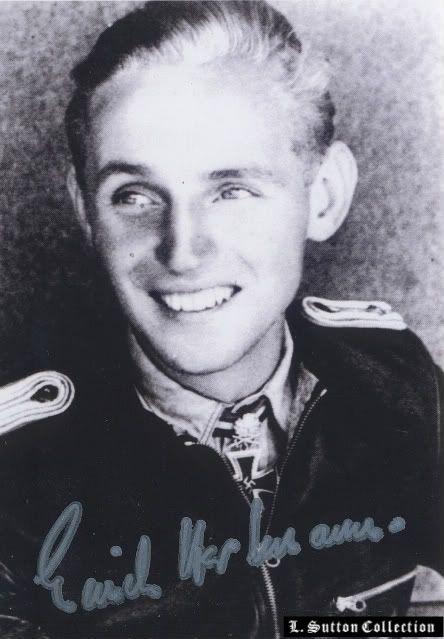 "Hartmann, Erich ""Bubi"" - WW2 Gravestone"