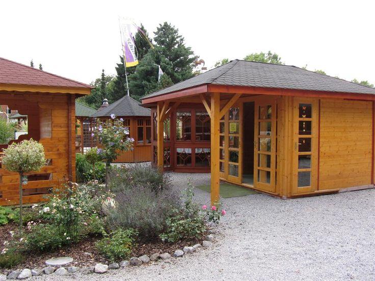 Elegant Ausstellungegel nde Wolff s Blockhaus u Gartenwelt Sonderanfertigungen nach Ma Pavillons Freisitze