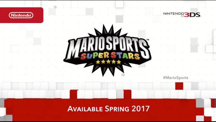 Mario Sports Superstars Announced - Mammoth Gamers