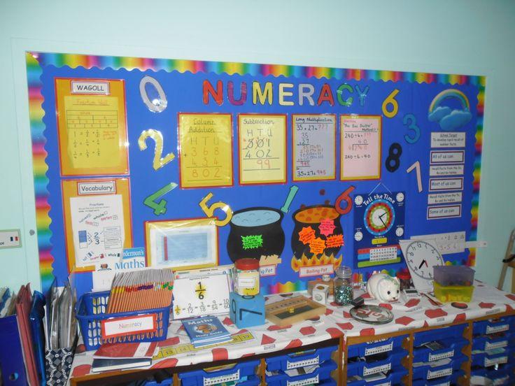 Classroom Ideas Year One ~ Sam g pixels maths display year