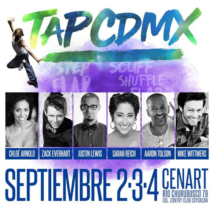 """TapCdMx en Twitter: """"#TAPCDMX los invita este 2,3 y 4 de septiembre en @endcc @SoloDanzaMexico @BalletinDance @alecks_valdes @danzaINBA https://t.co/u1pNdZHou2"""""""