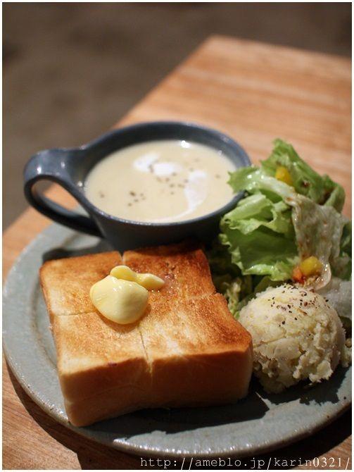 東京 国立 Cafe in Tokyo バタートースト