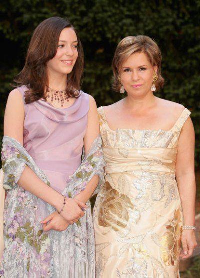 The Royal Fanzine - Royal Ladies of Luxembourg:  Grand Duchess Maria Teresa and Princess Alexandra 2006