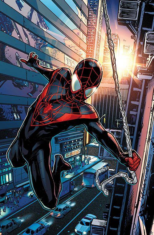 Spider man marvel comics miles morales ultimate - Et spider man ...