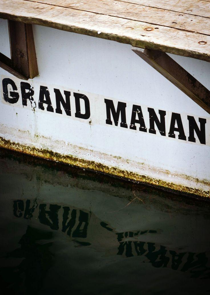 Lobster Fishing Boat, North Head, Grand Manan, New Brunswick, Canada by Morgan Guptill