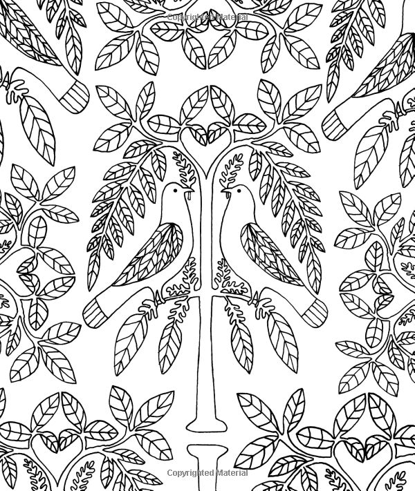 just add color folk art 30 original illustrations to color customize and