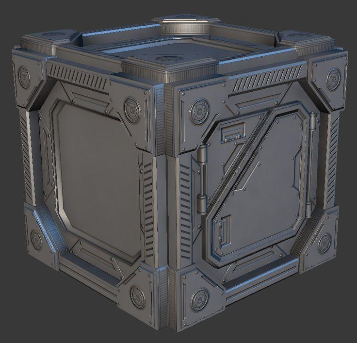 Don Pham | Environment Artist | Art Blog: Sci-Fi Crate
