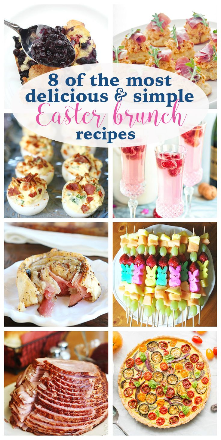 Brunch is the best meal of the day. Easter brunch is even better. If you are looking for Easter brunch recipes that delicious and simple, you'll love this inspirational post. It's full of all the recipes I want to try this year.  8 of the Most Delicious & Simple Easter Brunch Recipes http://eatdrinkandsavemoney.com/2017/03/27/8-of-the-most-delicious-simple-easter-brunch-recipes/