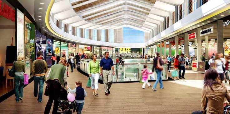 Union Square is a brand new shopping centre incorporating the bus station and railways station. Packed to the rafters with high class stores and eateries, it also houses a cinema, pub and hotel (Jury's Inn). Parking is plentiful and reasonably priced, but get there early to get a good space.
