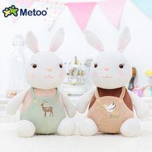 28 cm Yeni Metoo Karikatür Doldurulmuş Hayvanlar Angela Peluş Oyuncaklar Uyku Bebekler oyuncaklar Çocuk Oyuncak Doğum Günü Hediyeleri Çocuklar için Ücretsiz nakliye(China (Mainland))