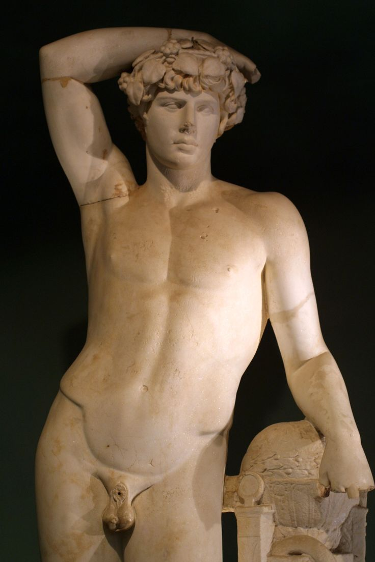 Antinous; The cult of Antinous was synchronized with existing cults. He was thus grafted on to both Osiris and Dionysus . In Rome itself the cult of Antinous was treated sceptically as his deification had not been sanctioned by the Senate.