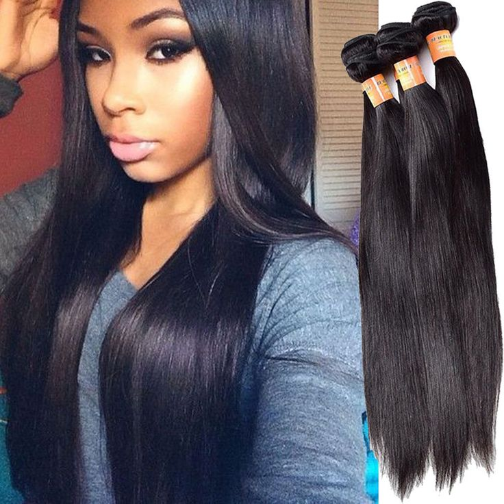 The 25 best real hair extensions ideas on pinterest extensions 300g 20 real human hair extension full head 1b straight hair weft weave pmusecretfo Images
