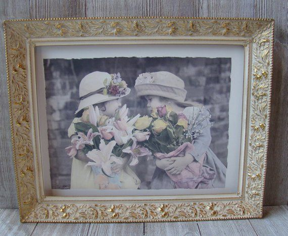 10 X 13 Vintage White And Gold Ornate Metal Frame Etsy Victorian Picture Frames Victorian Wedding Decor Wedding Picture Frames