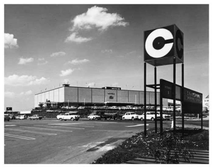 Chadstone Shopping Centre, in Melbourne's southeastern suburbs, exactly as I remember it in the 1960s.