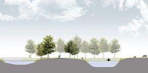 Landscape design for business park Haarbrug-Zuid by Vollmer & Partners