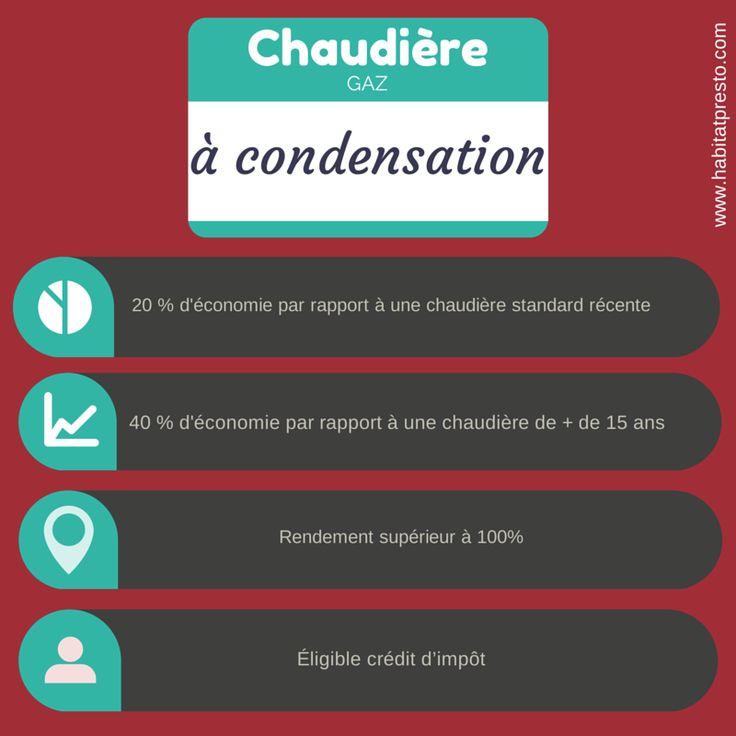 Avantages de la chaudière condensation gaz  | http://www.habitatpresto.com/interieur/chauffage/164-chaudiere-gaz-condensation #chaudiereacondensation #chauffage #gaz #chaudieregaz