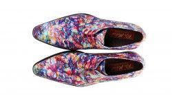 kleurrijke schoenen met bloemenprint mascolori