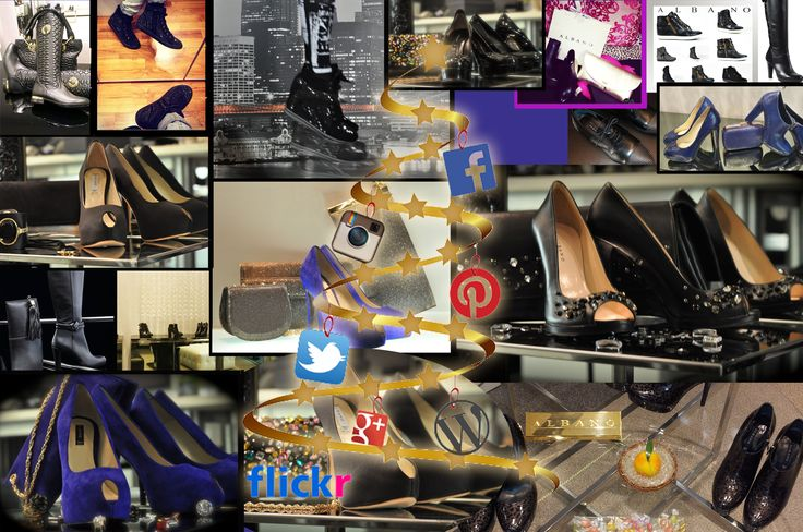 Christmas Holidays is coming..!Follow our pages of the different social network and discover Albano shoes in limited edition!!!