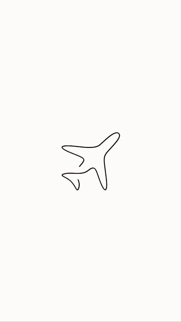 """Instagram Story Highlight """"Flugzeug"""""""