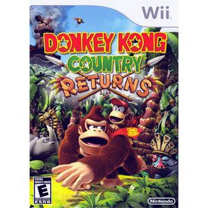 Donkey Kong Country Returns (Wii)  for the boys