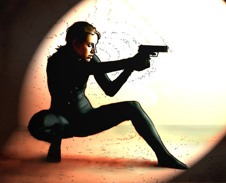 Spy Girl By Charred1deviantartcom Action Photography Pinterest