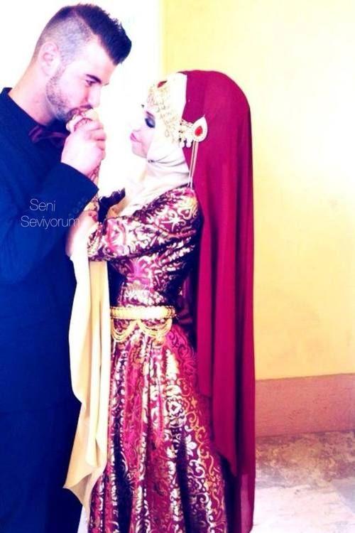 wedding couple #PerfectMuslimWedding.com