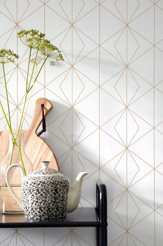 Geometric wallpaper, self adhesive, temporary, removable nursery mb098 by BestWallpapers on Etsy https://www.etsy.com/listing/521151300/geometric-wallpaper-self-adhesive