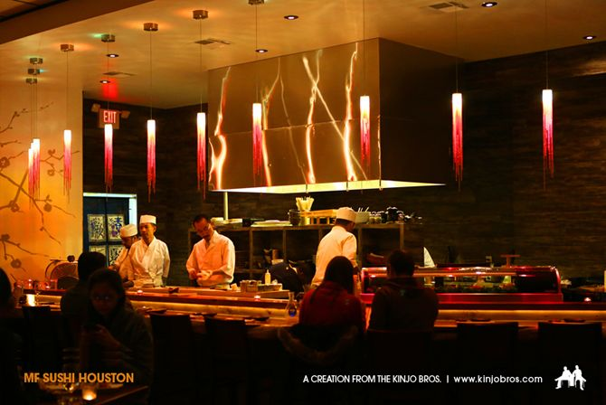 MF Sushi - Houston, TX One of the 17 Hottest Sushi Restaurants in America Right Now