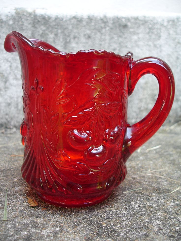 25+ Best Ideas About Red Glass On Pinterest