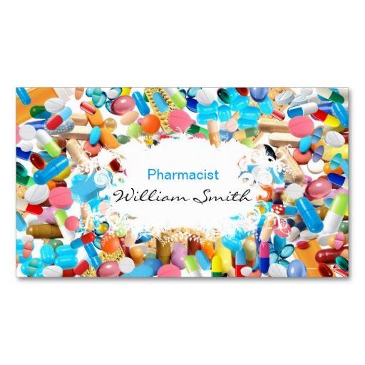 Pharmacist Business Card Templates Elitadearest