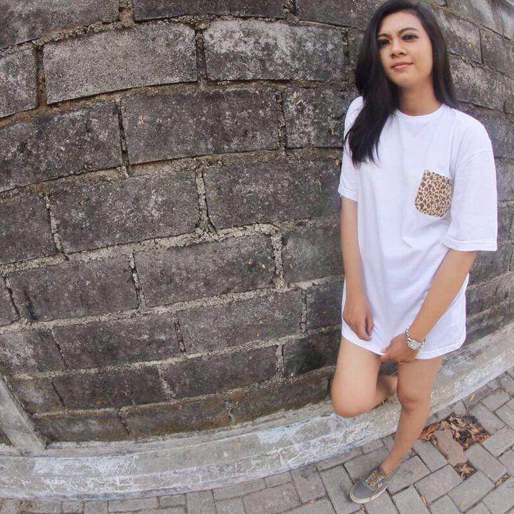 LEOPARD POCKET TEE #tshirt #enjoy #pocket