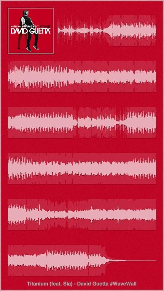 David Guetta - Sia - Titanium : iPhone 5 Poster #WaveWall (http://itunes.apple.com/app/wavewall/id595786336?mt=8)