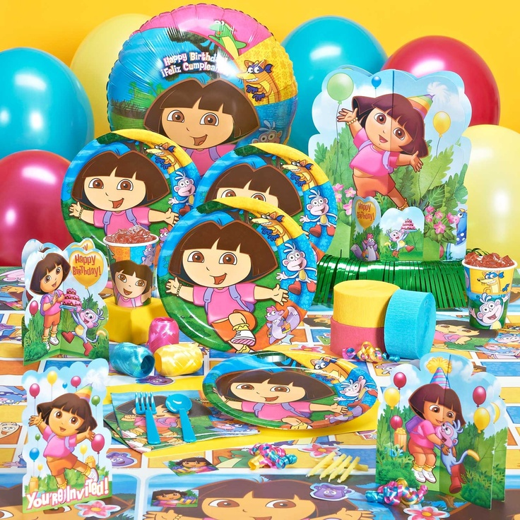 33 Best Birthday Theme: Dora The Explorer Images On