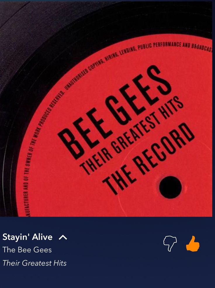 Stayin' Alive The Bee Gees Bee gees, Greatest hits, Songs