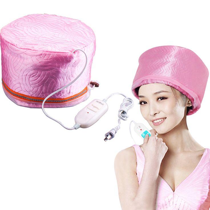 Fashion Wanita Rambut Steamer Cap Minyak Panas Pemanas Listrik Topi DIY Hair Styling Alat Rambut Nutrisi Perawatan Rambut Perawatan Kecantikan