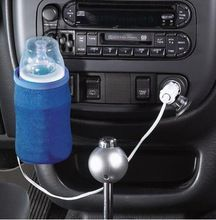 Portátil DC 12 V no carro do bebê garrafa aquecedor portátil alimentos leite viagens Cup Warmer aquecedor(China (Mainland))