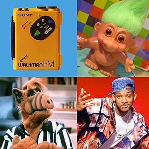 Walkman, Troll, Alf y el príncipe del rap. Cosas de los 90.